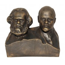 Арт. 0007  Карл Маркс и Владимир Ленин (Бюст)