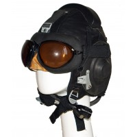 Шлемофон  Ш Л - 82 с полетными очками