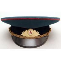 К001 Парадная фуражка офицера Танковых и Артиллерийских войск СССР.