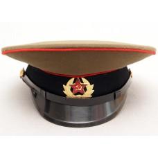 А003 СОЛДАТСКАЯ ФУРАЖКА ТАНКИСТСКИХ АРТИЛЛЕРИЙСКИХ ВОЙСК СССР