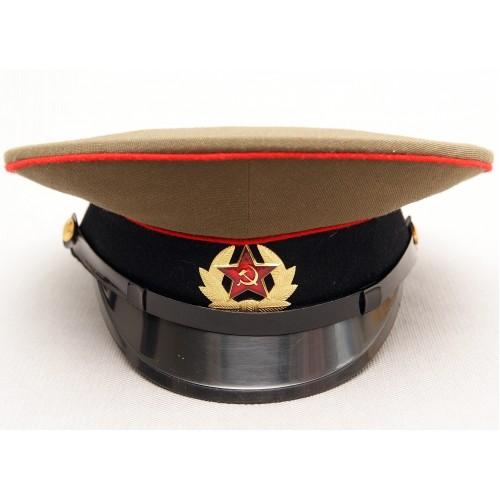 К002 Солдатская фуражка Танкистских и Артиллерийских войск