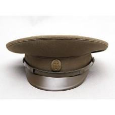 Фуражка общевойсковая офицерская полевая 1970-1991 годов.