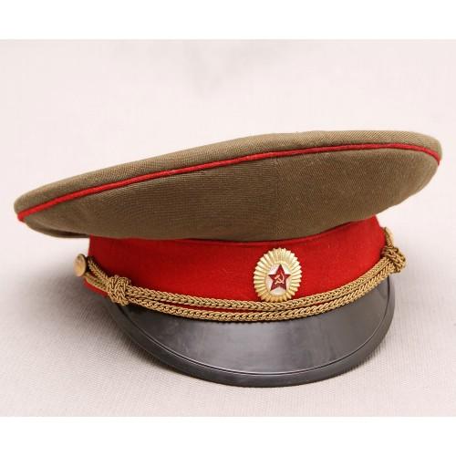 К007 Фуражка офицера мотострелковых войск Советской Армии