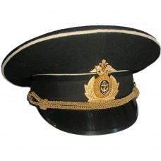 А017  ФУРАЖКА ОФИЦЕРА ВМФ РОССИИ