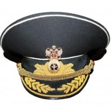 Адмиральская фуражка армии Российской Федерации