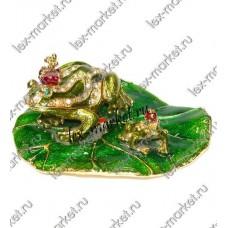 Шкатулка-лягушка (0019)