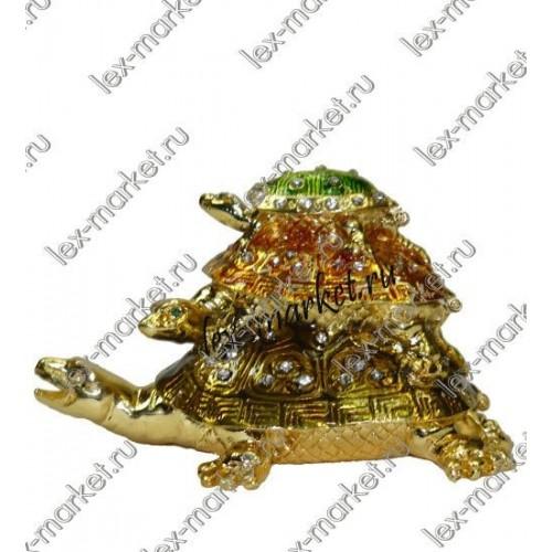 Шкатулка «Три черепахи» (0015)