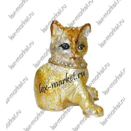 Кошка в стиле  Фаберже (0012)