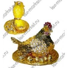 Шкатулка-курица (0017)