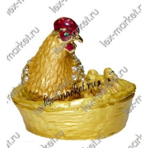 Курица в стиле  Фаберже (0013)