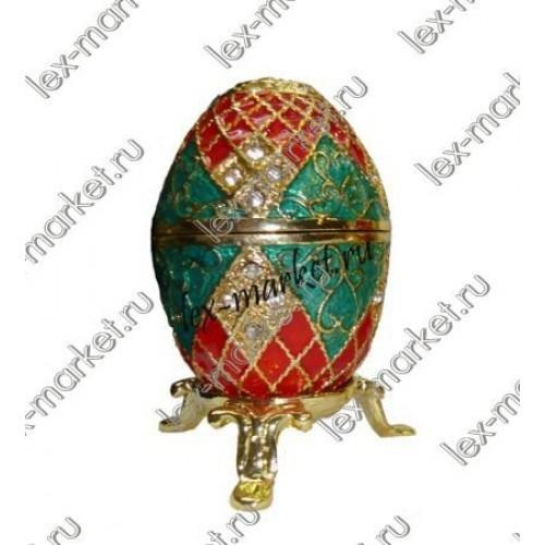 Яйцо-шкатулка (0029)
