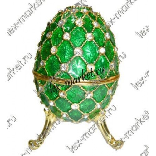 Яйцо-шкатулка (0023)