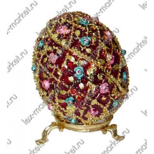 Яйцо-шкатулка (0026)
